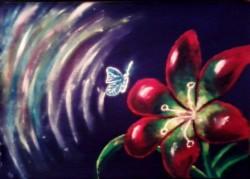 Picturi cu flori Magia naturii