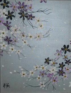 Picturi cu flori Cires Japonez - Sakura