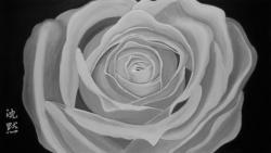 Picturi cu flori Silence(chinmoku)