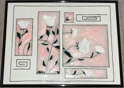 Picturi cu flori Declaratie de iubire cu trandafiri
