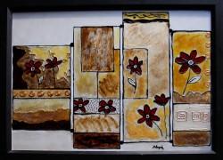 Picturi cu flori Carari si flori