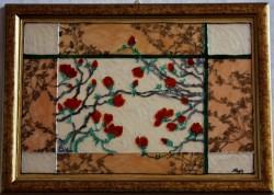 Picturi cu flori Flori japoneze