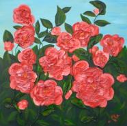Picturi cu flori Camelii