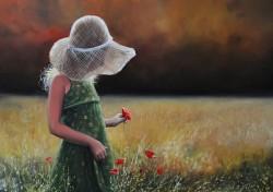 Picturi cu flori Poveste de vara