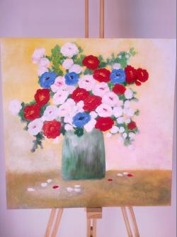 Picturi cu flori Miniroze 1