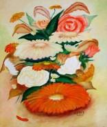 Picturi cu flori Un buchet de flori