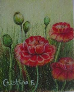 Picturi cu flori FLORICELE2