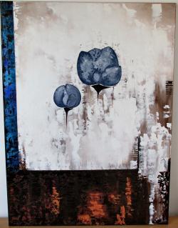 Picturi cu flori Bujori de plumb