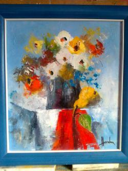 Picturi cu flori STATICA CU ANEMONE