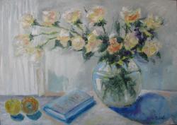Picturi cu flori ROSES 2015