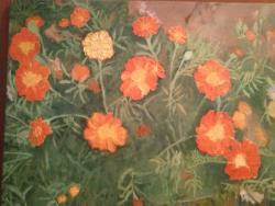 Picturi cu flori Florile doamnei Mia