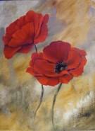 Picturi cu flori 2 maci