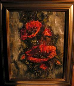 Picturi cu flori 2 maci II