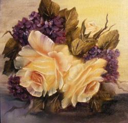 Picturi cu flori Amintire de primavara