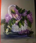Picturi cu flori Amintiri din mai