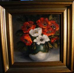 Picturi cu flori Anemone primavaratice