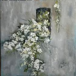 Picturi cu flori Asediul trandafirilor