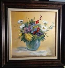 Picturi cu flori Buchet  de vara