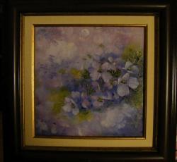 Picturi cu flori Cascada de petale