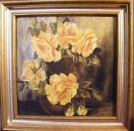 Picturi cu flori Hora aurie