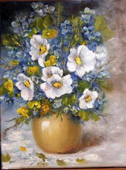 Picturi cu flori Imitatie