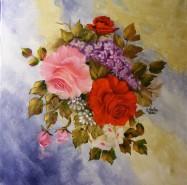 Picturi cu flori In amintirea verii trecute