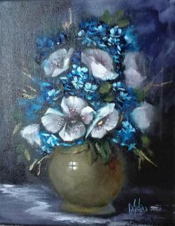 Picturi cu flori Inspiratie de taina
