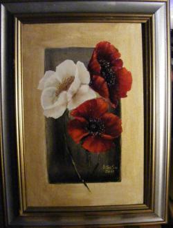 Picturi cu flori Maci 2011