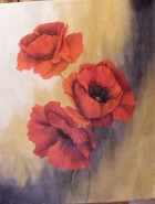 Picturi cu flori Macii acestei veri toride
