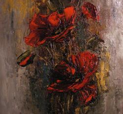 Picturi cu flori Maci III