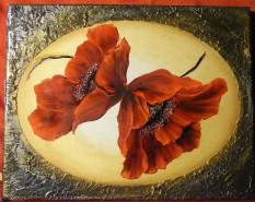 Picturi cu flori Macii sperantei