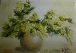 Picturi cu flori Sanziene