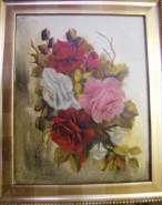 Picturi cu flori Miniatura colorata