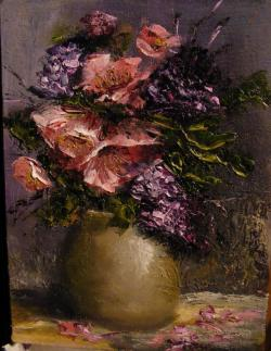 Picturi cu flori Ne amintim de primavara