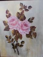 Picturi cu flori Nu suntem singuri. suntem roz