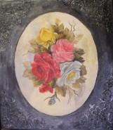 Picturi cu flori Parfum de roze