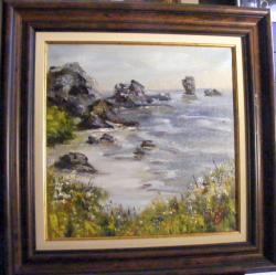 Picturi cu flori Plaja salbatica