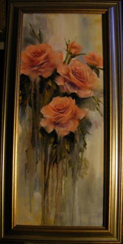 Picturi cu flori Ploaia de trandafiri 2