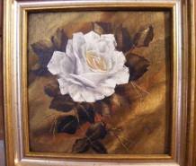 Picturi cu flori Puritate diafana