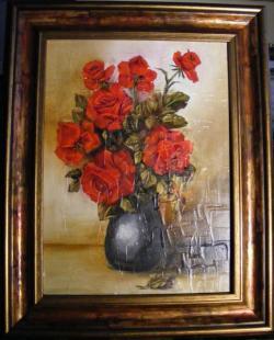 Picturi cu flori Red roses