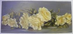 Picturi cu flori Roze aurii