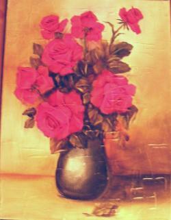 Picturi cu flori Roze misterioase