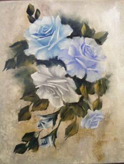 Picturi cu flori Seninatate