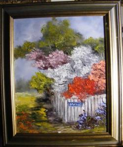 Picturi cu flori Strada sperantei