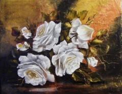 Picturi cu flori Trandafiri abisali ii