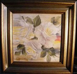 Picturi cu flori Umbrele trandafirilor