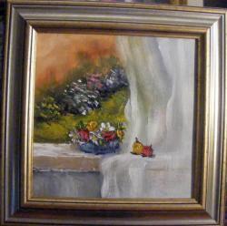 Picturi cu flori Zefir de primavara