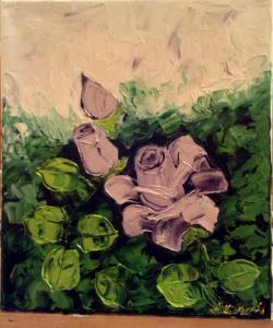 Picturi cu flori Dreaming a rose