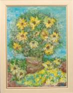 Picturi cu flori Narcise galbene