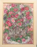 Picturi cu flori Trandafiri salbatici
